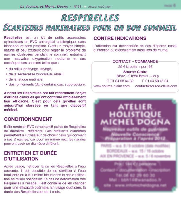Respirelles actualit s for Salon zen champerret